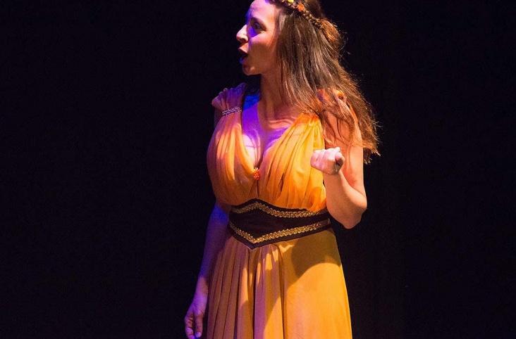 Somni d'una nit d'estiu. W.Shakaspeare. Nancy Tuñón, Escola d'actors 2015