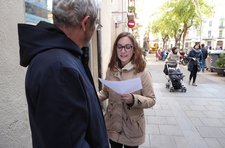 Con Shakespeare en la calle