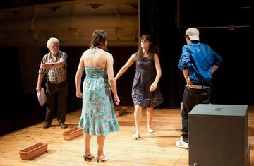 Nancy Tuñón · Jordi Oliver, escola d'actors. Assaig - 2009