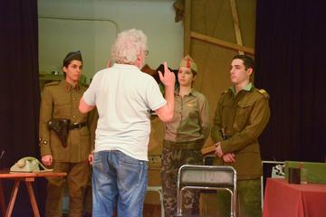 Nancy Tuñón, escuela de actores: ensayo de alumnos del Plan de formación