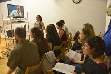 Nancy Tuñón, escola d'actors: interpretació davant la càmera
