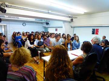 Nancy Tuñón, escola d'actors: Presentació del Pla de Formació