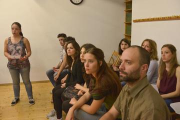 Nancy Tuñón, escola d'actors: interpretació de cançons