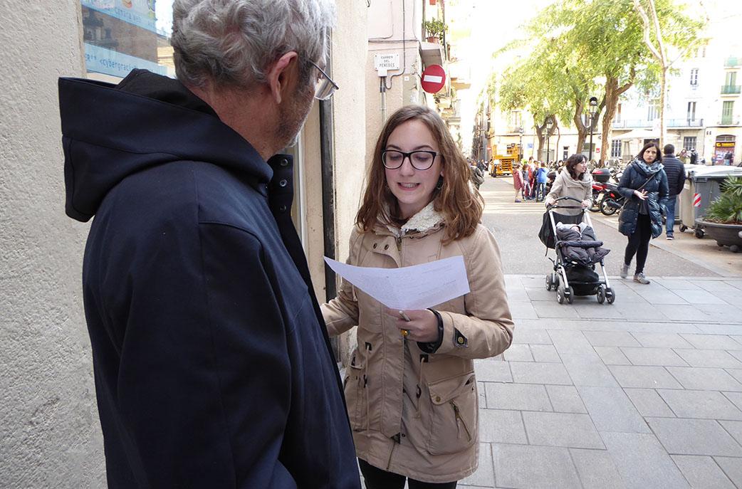 Amb Shakespeare al carrer