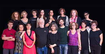 Foto del equipo del estudio Nancy Tuñón
