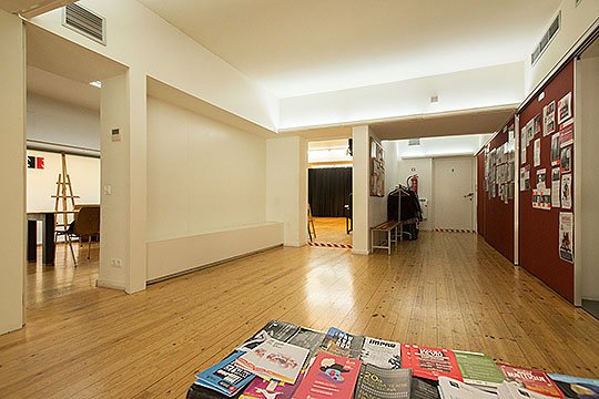 Hall de Nancy Tuñón · Jordi Oliver, Escuela de actores